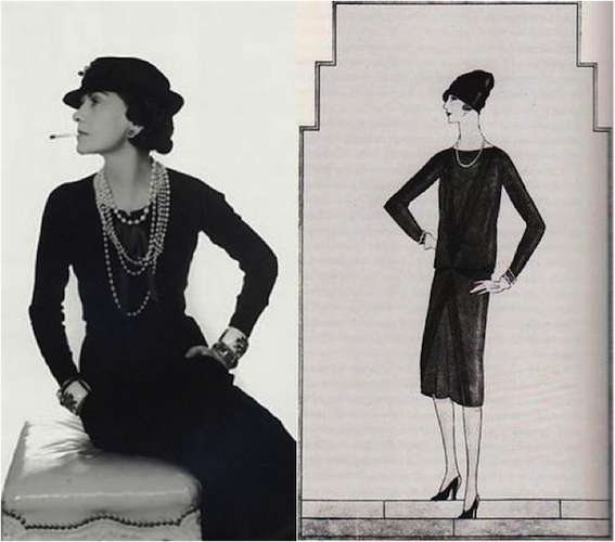 Little Black Dress by Coco Chanel