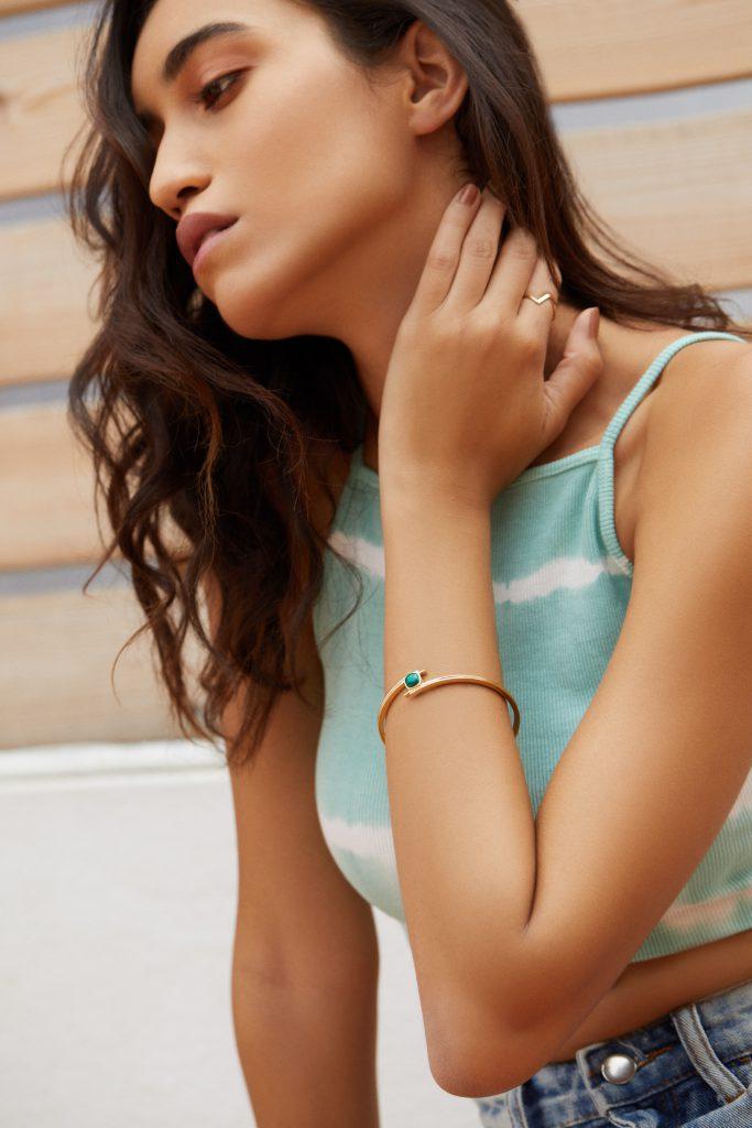 gemstone bangle for thursday