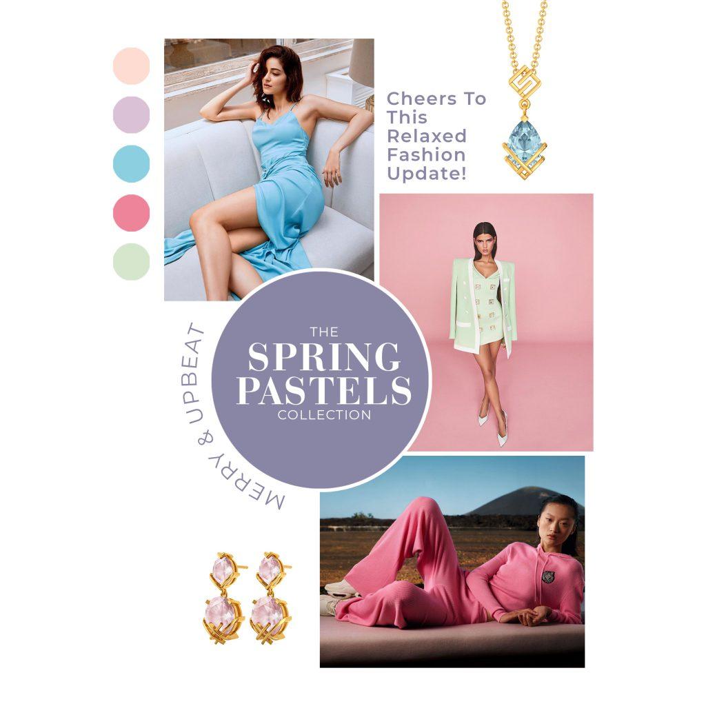spring pastels collection spring summer 2021