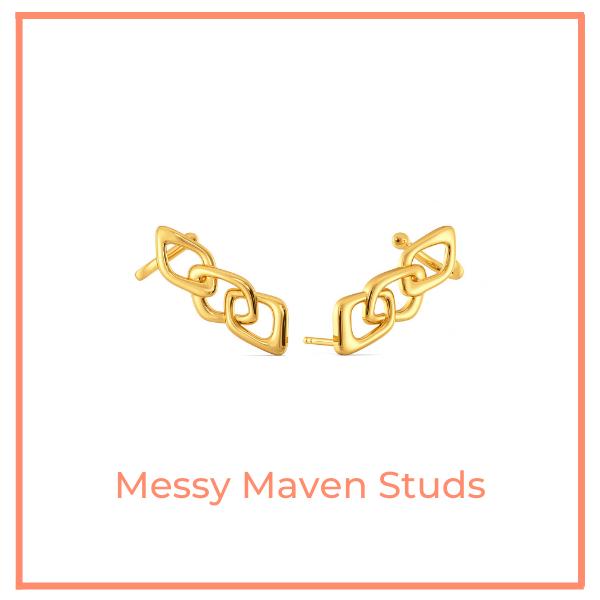 Messy Maven Studs