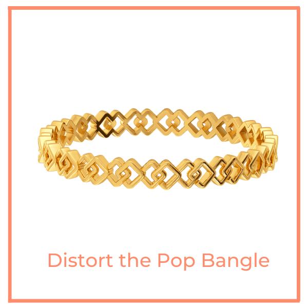 Distort the Pop Bangle