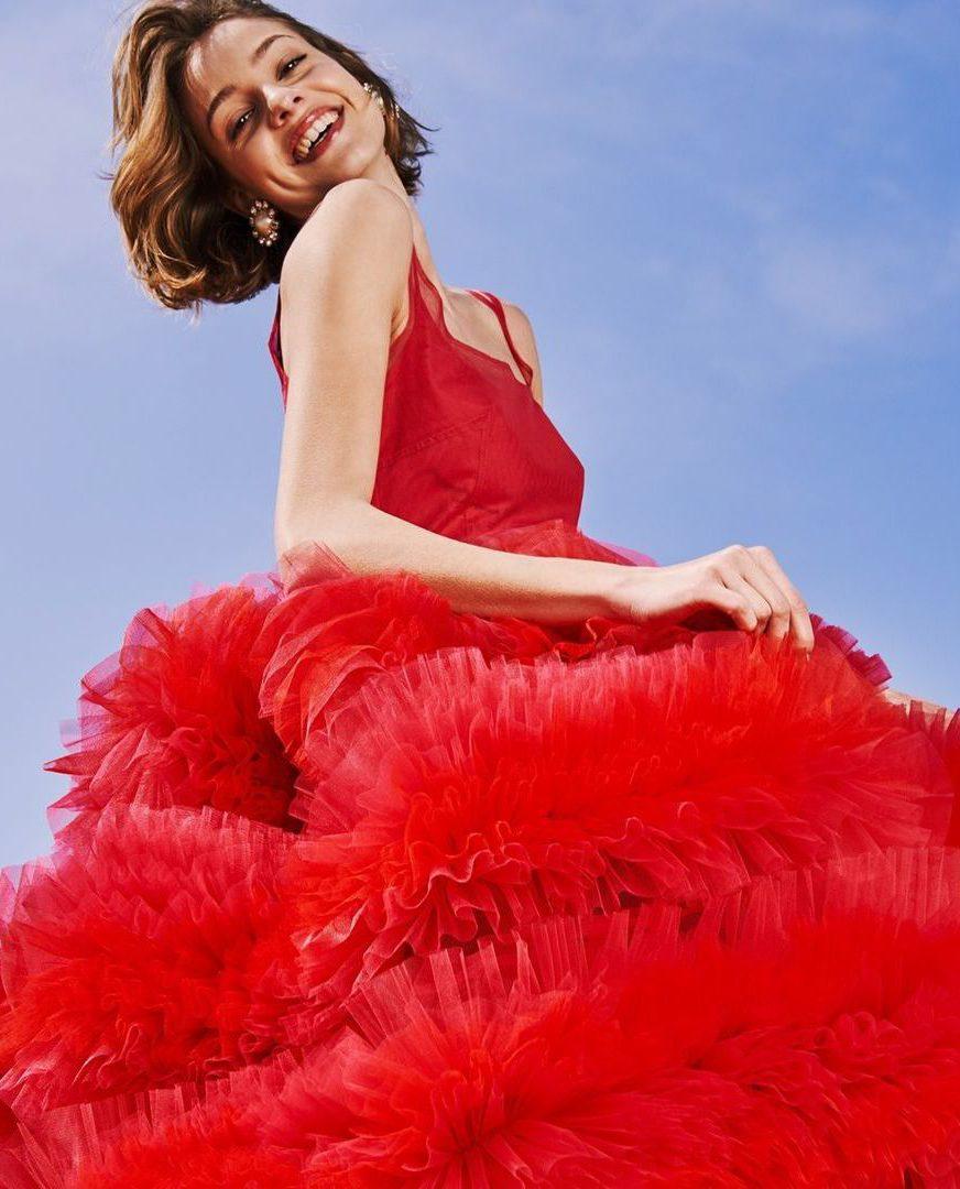 Flirt in red