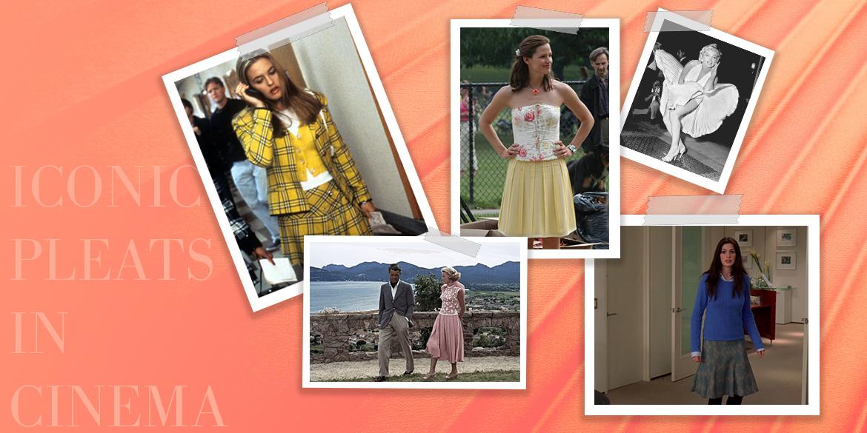 Iconic Pleats of Cinema! #Fashion
