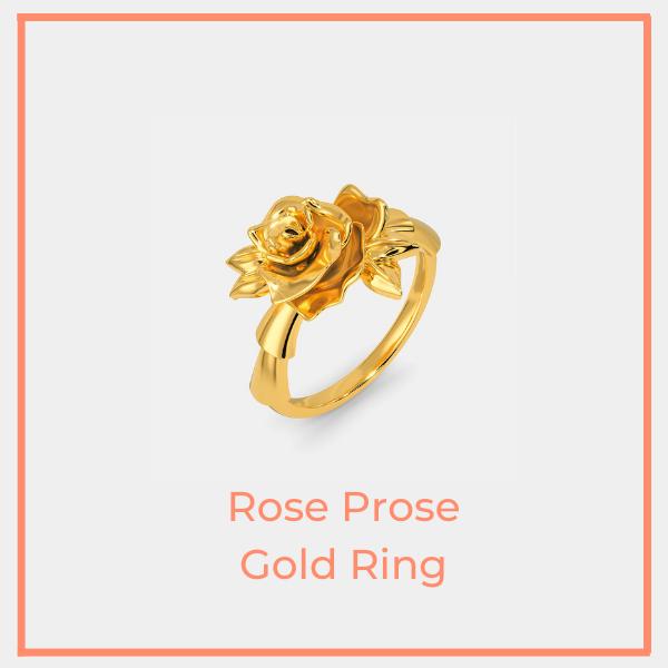 Rose Prose Ring