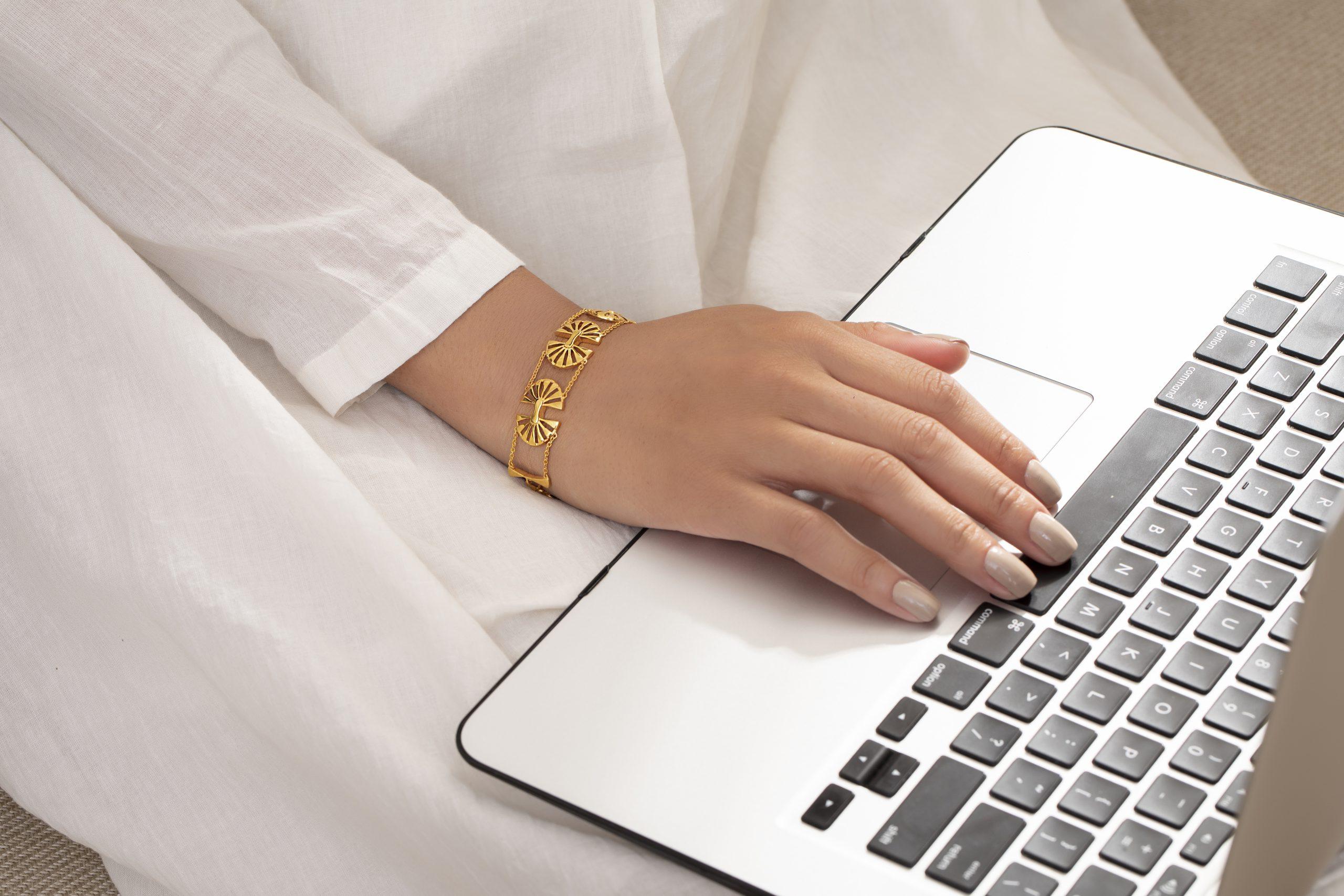 The Elegant Boho Gold Bracelet