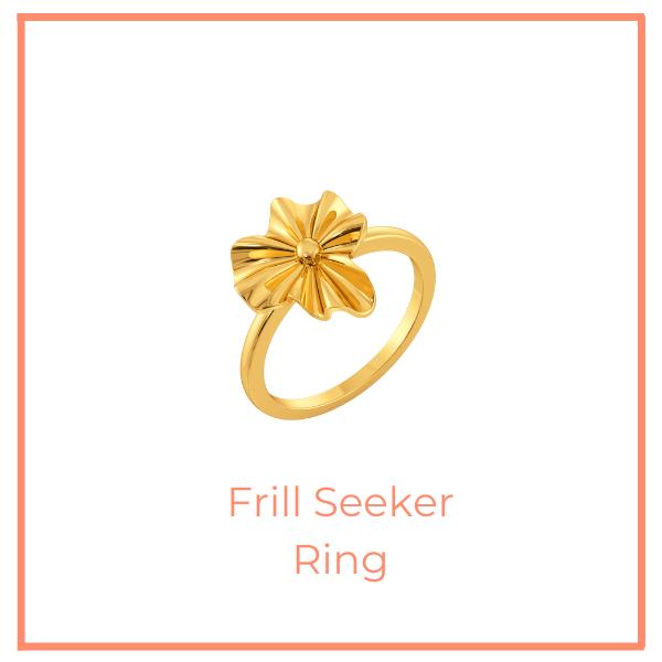Frill Seeker Ring